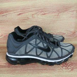 Nike Air Max ID Running Sneakers Gray Black 8